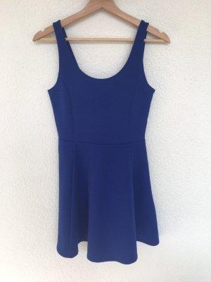 blaues mini-kleid von h&m