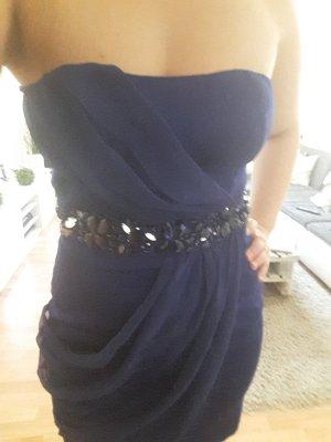 Blaues MiniPartykleid