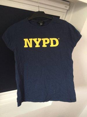Blaues NYPD Tshirt