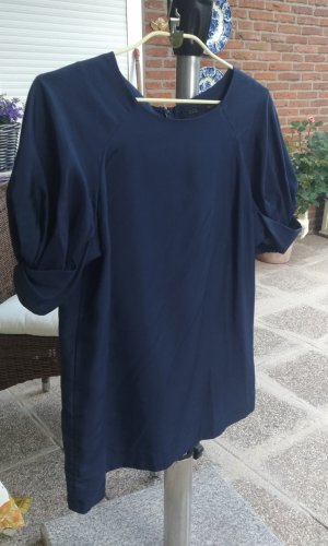 COS T-Shirt dark blue silk