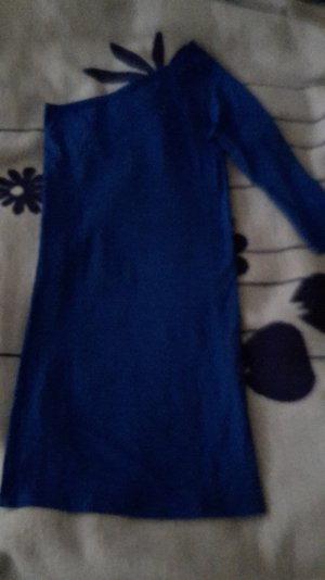 blaues One-Shoulder Bodycon Kleid von Vero Moda