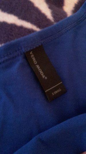 blaues One-Shoulder Kleid von Vero Moda
