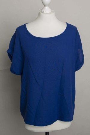 Blaues Oversized Shirt
