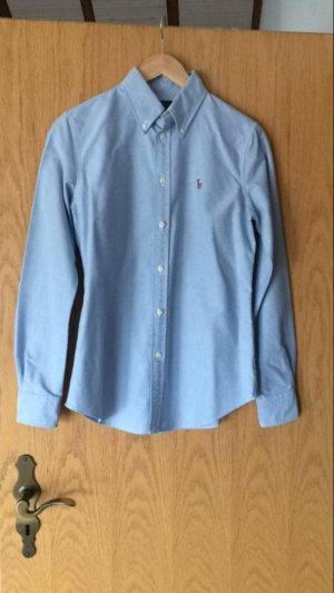 Blaues Polo Ralph Lauren Hemd/ Bluse