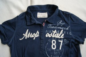 blaues Poloshirt/Shirt