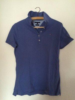 blaues Poloshirt von Tommy Hilfiger