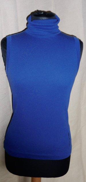 Blaues Rollkragen Basic Top Marc Cain 36