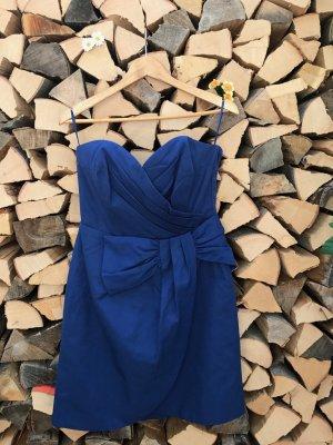 blaues schickes Kleid mit Schleife (neu)