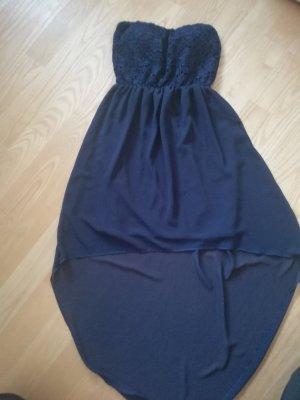 Off-The-Shoulder Dress dark blue