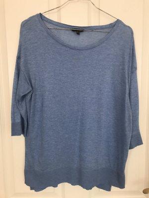 Blaues Shirt in Größe M