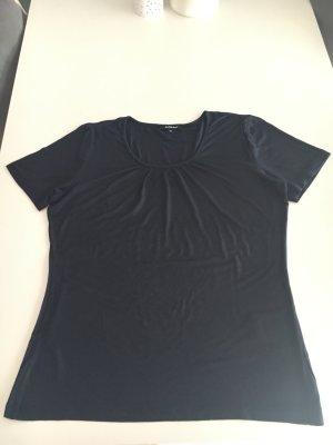More & More Camiseta azul oscuro Algodón