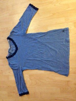 Blaues Shirt/Nachthemd