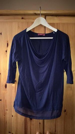 Blaues Shirt von Esprit, Gr. S