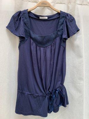 Blaues Shirt von Promod, Pailletten, neuwertig, NP 29€