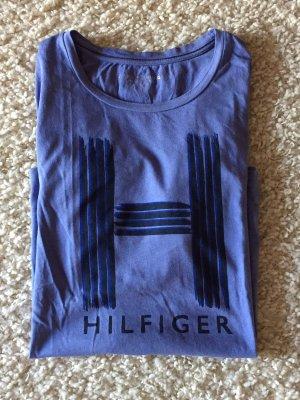 Blaues Shirt von Tommy Hilfiger in Größe M