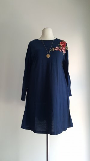Shirt Dress multicolored polyester