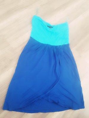 blaues sommer kleidchen