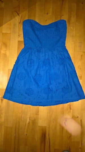Charlotte Russe Off-The-Shoulder Dress cornflower blue