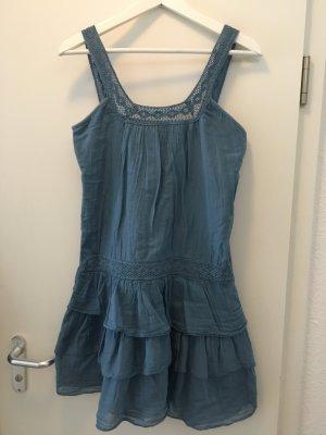 Blaues Sommerkleid, Größe XS/S