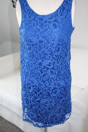 Blaues Spitzenkleid von H&M