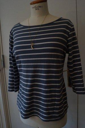 Blaues Streifen Shirt Gr.38
