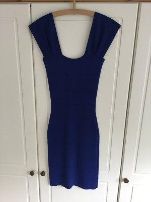 Blaues Stretch Kleid