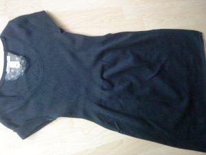 blaues Strickkleidchen kurzer Arm von Mango M