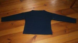 Blaues Sweatshirt mit U-Boot Ausschnitt - Größe S - Broadway