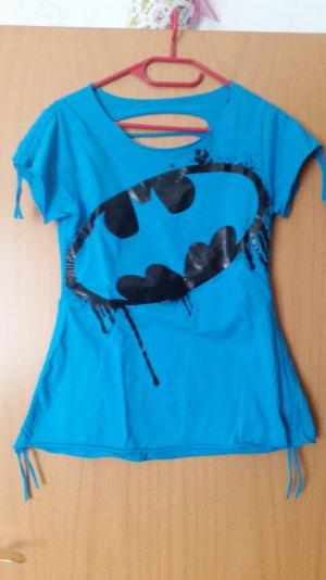 Blaues T-shirt. Gr. 38