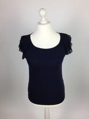Blaues T-Shirt von Ann Taylor in Gr. M
