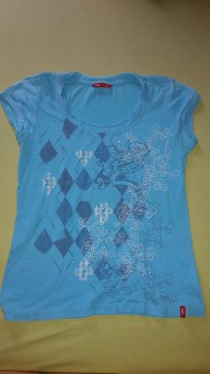 blaues T-shirt von edc
