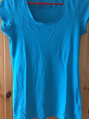 Blaues T-Shirt von Takko in Größe S