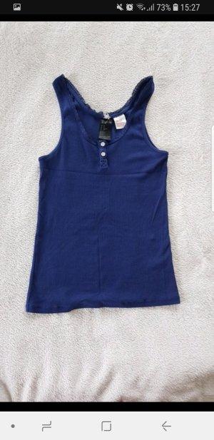 Blaues Top H&M XS