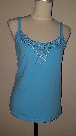 b.p.c. Bonprix Collection Shirt babyblauw-turkoois