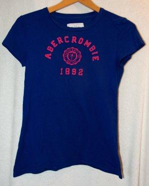 blaues Tshirt von Abercrombie&Fitch