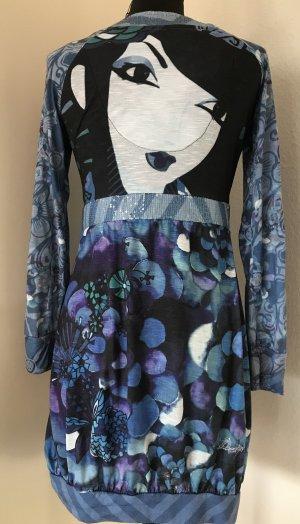 Desigual Vestido tipo túnica multicolor Poliéster