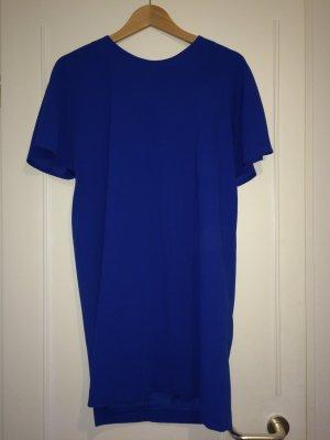 Blaues weit geschnittenes Kleid von Mango