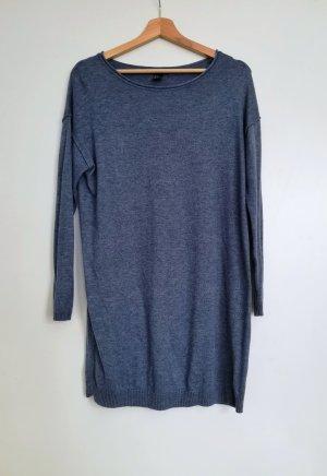 Blaues Wollkleid