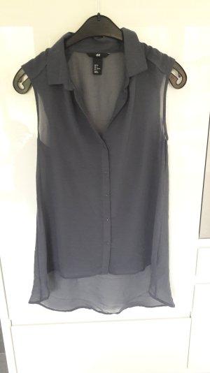 blaugraue Bluse von H&m