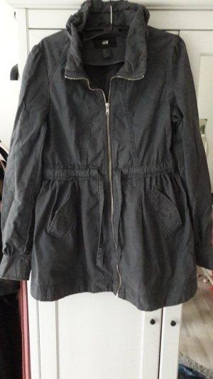 blaugraue Jacke/ Mantel von H&m