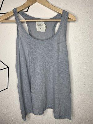 H&M Tank Top slate-gray