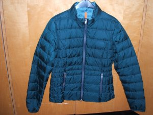 Blaugrüne Daunenjacke von Tom Tailor in S