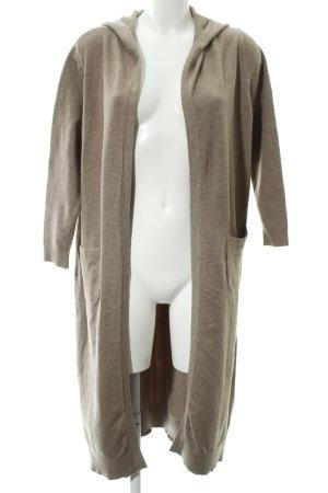 Blaumax Cardigan marrone chiaro puntinato stile casual