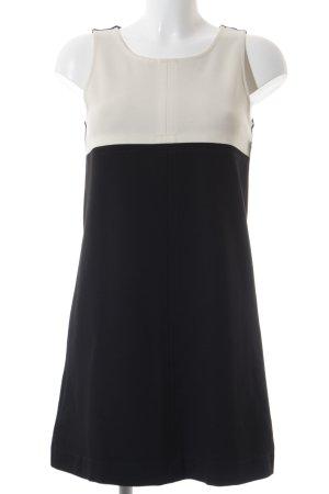 Blaumax Vestido ceñido de tubo negro-blanco puro bloques de color