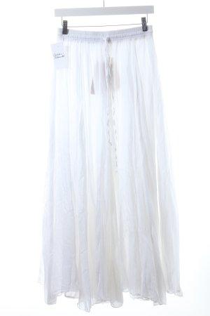 Blaumax Falda a cuadros blanco look Boho