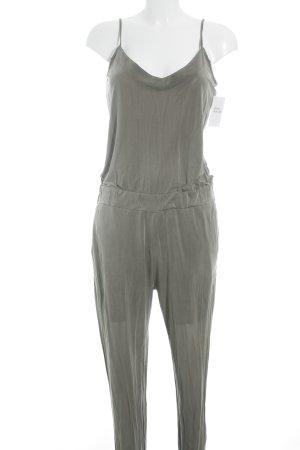 Blaumax Jumpsuit groen-grijs casual uitstraling