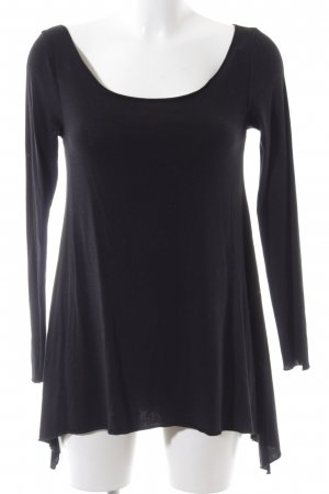 Blaumax Longshirt schwarz Casual-Look