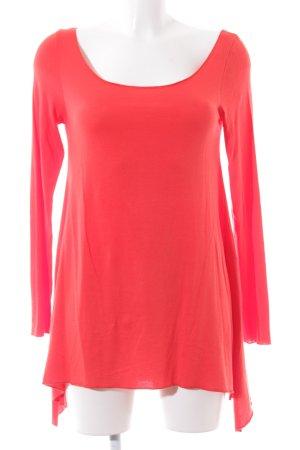Blaumax Longshirt rot Casual-Look