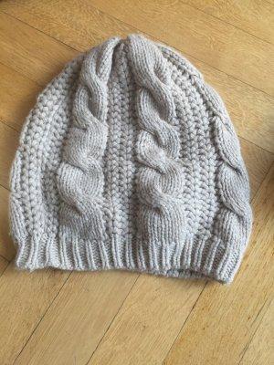 Blaumax Mütze Beani Hut beige wNeu Strickmütze wolle Cashmere