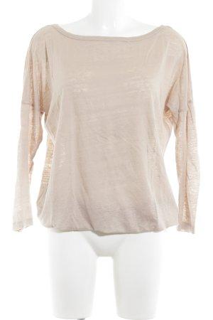 Blaumax Oversized Shirt nude meliert Casual-Look